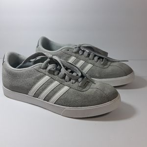 ADIDAS Neo comfort footbed grey sneakers sz 6